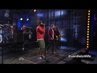 Gym Class Heroes feat. Ryan Tedder- The Fighter (The Tonight Show with Jay Leno)